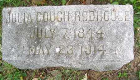 COUCH RODHOUSE, JULIA - Lorain County, Ohio | JULIA COUCH RODHOUSE - Ohio Gravestone Photos