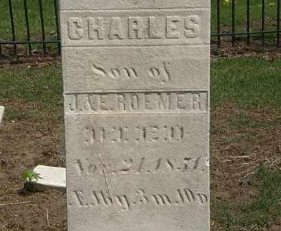 ROEMER, E. - Lorain County, Ohio | E. ROEMER - Ohio Gravestone Photos