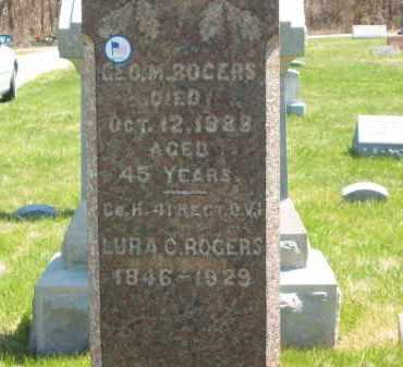 ROGERS, GEO. M - Lorain County, Ohio | GEO. M ROGERS - Ohio Gravestone Photos