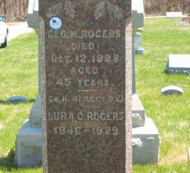 ROGERS, LURA C. - Lorain County, Ohio | LURA C. ROGERS - Ohio Gravestone Photos