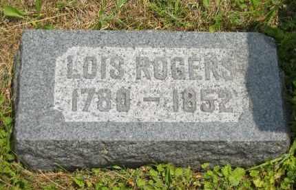 ROGERS, LOIS - Lorain County, Ohio | LOIS ROGERS - Ohio Gravestone Photos