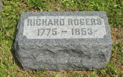 ROGERS, RICHARD - Lorain County, Ohio | RICHARD ROGERS - Ohio Gravestone Photos