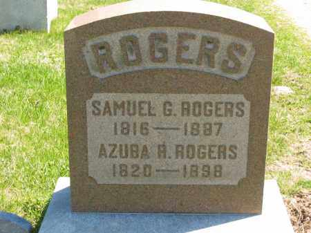 ROGERS, AZUBA R. - Lorain County, Ohio | AZUBA R. ROGERS - Ohio Gravestone Photos