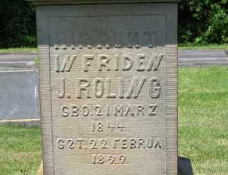 ROLING, J. - Lorain County, Ohio | J. ROLING - Ohio Gravestone Photos