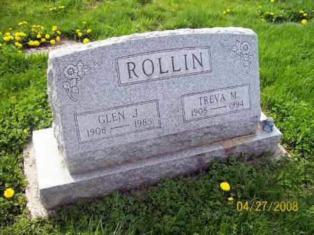 ROLLIN, GLEN J. - Lorain County, Ohio | GLEN J. ROLLIN - Ohio Gravestone Photos