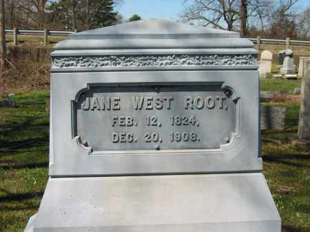 WEST ROOT, JANE - Lorain County, Ohio | JANE WEST ROOT - Ohio Gravestone Photos