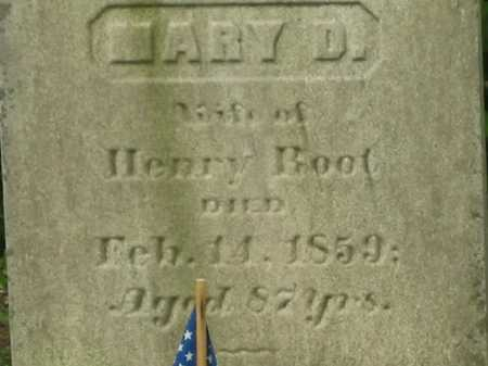 ROOT, MARY D. - Lorain County, Ohio | MARY D. ROOT - Ohio Gravestone Photos