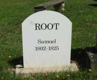 ROOT, SAMUEL - Lorain County, Ohio | SAMUEL ROOT - Ohio Gravestone Photos