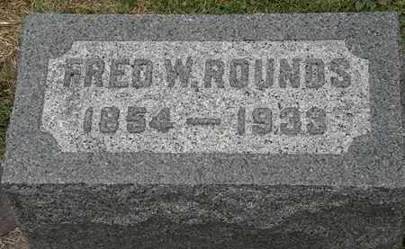 ROUNDS, FRED W. - Lorain County, Ohio | FRED W. ROUNDS - Ohio Gravestone Photos