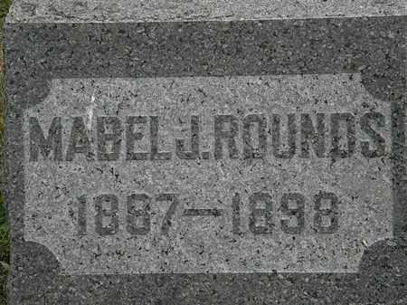 ROUNDS, MABEL J. - Lorain County, Ohio | MABEL J. ROUNDS - Ohio Gravestone Photos