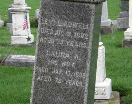 ROWELL, LAURA A. - Lorain County, Ohio | LAURA A. ROWELL - Ohio Gravestone Photos