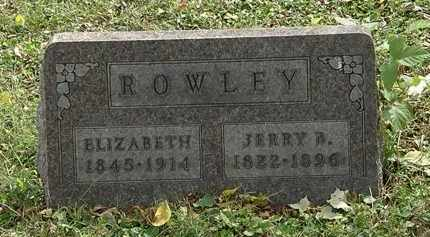 ROWLEY, ELIZABETH - Lorain County, Ohio | ELIZABETH ROWLEY - Ohio Gravestone Photos