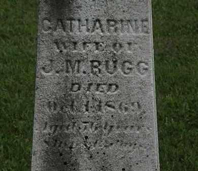 RUGG, CATHARINE - Lorain County, Ohio | CATHARINE RUGG - Ohio Gravestone Photos