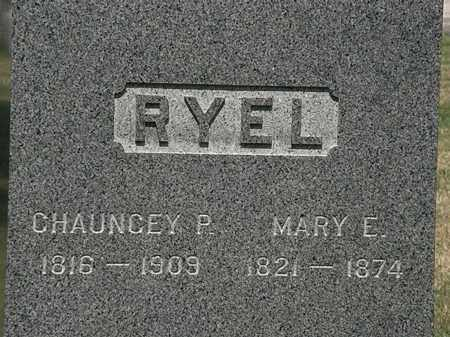 RYEL, MARY E. - Lorain County, Ohio | MARY E. RYEL - Ohio Gravestone Photos