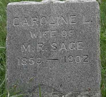 SAGE, M.R. - Lorain County, Ohio | M.R. SAGE - Ohio Gravestone Photos