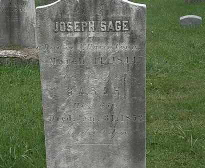 SAGE, JOSEPH - Lorain County, Ohio | JOSEPH SAGE - Ohio Gravestone Photos