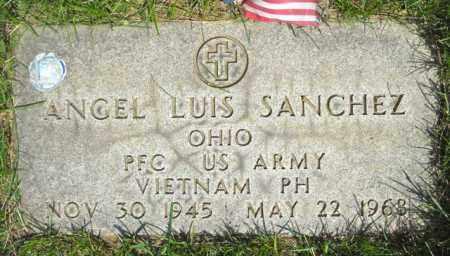 SANCHEZ, ANGEL LUIS - Lorain County, Ohio | ANGEL LUIS SANCHEZ - Ohio Gravestone Photos