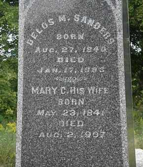 SANDERSON, MARY C. - Lorain County, Ohio | MARY C. SANDERSON - Ohio Gravestone Photos