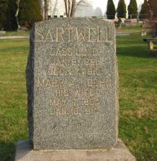 HOEHN SARTWELL, MARY A. - Lorain County, Ohio | MARY A. HOEHN SARTWELL - Ohio Gravestone Photos