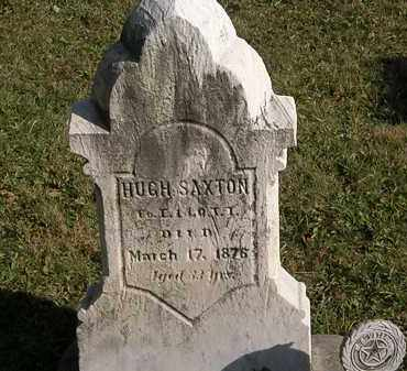 SAXTON, HUGH - Lorain County, Ohio | HUGH SAXTON - Ohio Gravestone Photos
