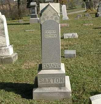 SAXTON, MARKER - Lorain County, Ohio | MARKER SAXTON - Ohio Gravestone Photos