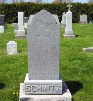 SCHMITZ, MARGARET - Lorain County, Ohio | MARGARET SCHMITZ - Ohio Gravestone Photos