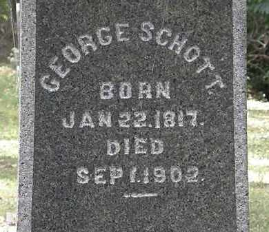 SCHOTT, GEORGE - Lorain County, Ohio | GEORGE SCHOTT - Ohio Gravestone Photos
