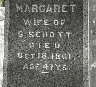 SCHOTT, MARGARET - Lorain County, Ohio | MARGARET SCHOTT - Ohio Gravestone Photos
