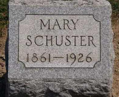 SCHUSTER, MARY - Lorain County, Ohio | MARY SCHUSTER - Ohio Gravestone Photos