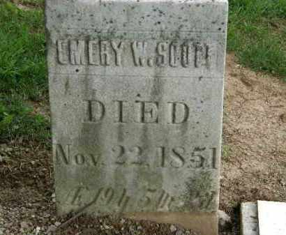 SCOTT, EMERY W. - Lorain County, Ohio | EMERY W. SCOTT - Ohio Gravestone Photos