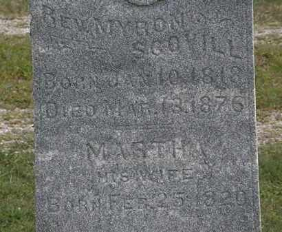SCOVILL, MARTHA - Lorain County, Ohio | MARTHA SCOVILL - Ohio Gravestone Photos