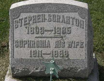 SCRANTON, SOPHRONIA - Lorain County, Ohio | SOPHRONIA SCRANTON - Ohio Gravestone Photos
