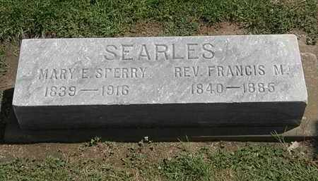 SEARLES, FRAMCIS M. - Lorain County, Ohio | FRAMCIS M. SEARLES - Ohio Gravestone Photos