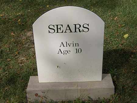 SEARS, ALVIN - Lorain County, Ohio | ALVIN SEARS - Ohio Gravestone Photos