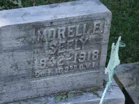SEELY, MORELL E. - Lorain County, Ohio | MORELL E. SEELY - Ohio Gravestone Photos