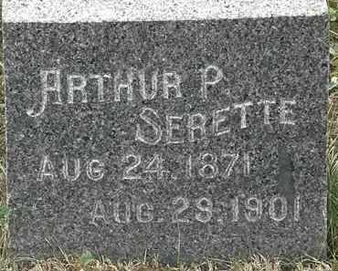 SERETTE, ARTHUR P. - Lorain County, Ohio | ARTHUR P. SERETTE - Ohio Gravestone Photos
