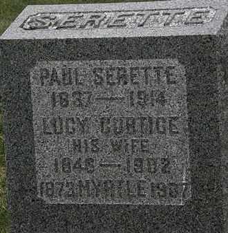 SERETTE, MYRTLE - Lorain County, Ohio | MYRTLE SERETTE - Ohio Gravestone Photos