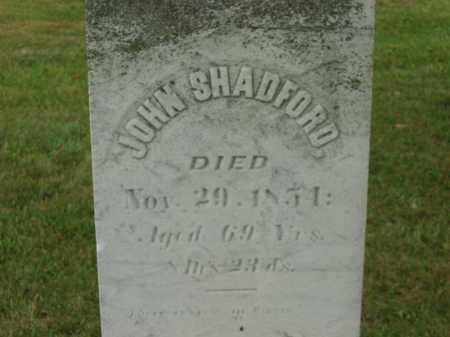SHADFORD, JOHN - Lorain County, Ohio | JOHN SHADFORD - Ohio Gravestone Photos