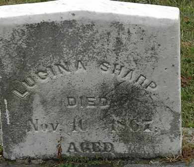 SHARP, LUCINDA - Lorain County, Ohio | LUCINDA SHARP - Ohio Gravestone Photos