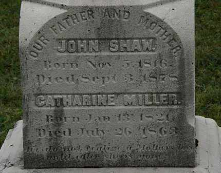 SHAW, CATHARINE - Lorain County, Ohio | CATHARINE SHAW - Ohio Gravestone Photos