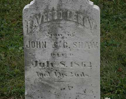 SHAW, JOHN - Lorain County, Ohio | JOHN SHAW - Ohio Gravestone Photos