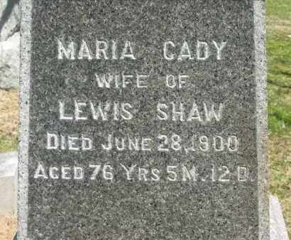 SHAW, LEWIS - Lorain County, Ohio | LEWIS SHAW - Ohio Gravestone Photos