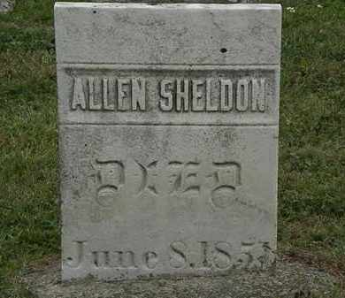 SHELDON, ALLEN - Lorain County, Ohio | ALLEN SHELDON - Ohio Gravestone Photos