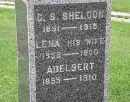 SHELDON, LENA - Lorain County, Ohio | LENA SHELDON - Ohio Gravestone Photos