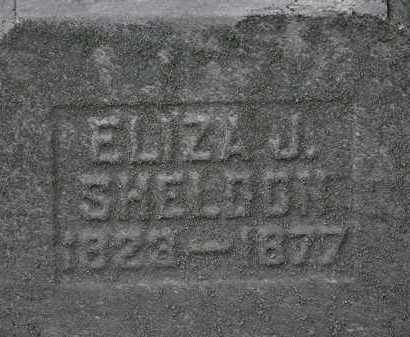 SHELDON, ELIZA J. - Lorain County, Ohio | ELIZA J. SHELDON - Ohio Gravestone Photos