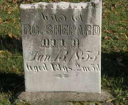 SHEPARD, P.G. - Lorain County, Ohio | P.G. SHEPARD - Ohio Gravestone Photos