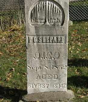 SHEPARD, P. G. - Lorain County, Ohio | P. G. SHEPARD - Ohio Gravestone Photos