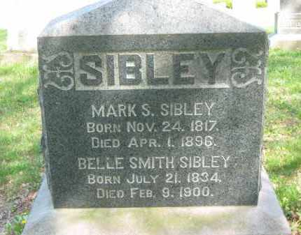 SIBLEY, BELLE - Lorain County, Ohio | BELLE SIBLEY - Ohio Gravestone Photos