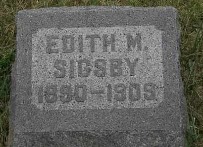 SIGDBY, EDITH M. - Lorain County, Ohio   EDITH M. SIGDBY - Ohio Gravestone Photos