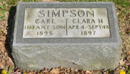 SIMPSON, CLARA H. - Lorain County, Ohio | CLARA H. SIMPSON - Ohio Gravestone Photos